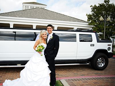 hummer limo for wedding